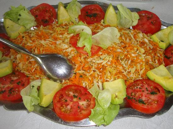 Aquin, Haiti: Natural;y prepared salad
