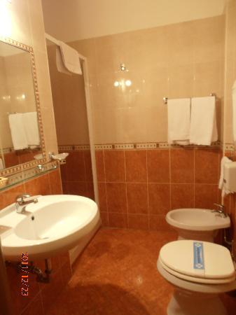 Hotel Ares Milano: bagno