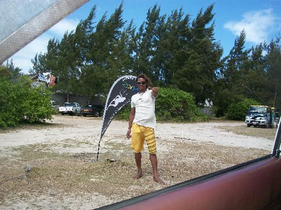 Le Morne Kite School: Mario, der Chef