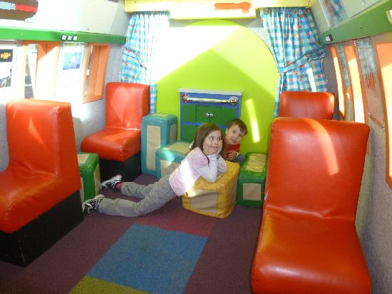 Kids on the Fly, Chicago Children's Museum at O'Hare Airport: cabin