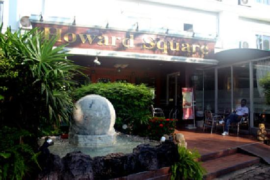 Howard Square Boutique Hotel : Entrance of Hotel