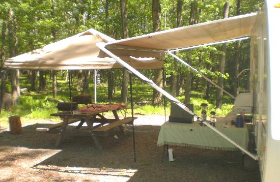 Promised Land State Park: The Pines Campground