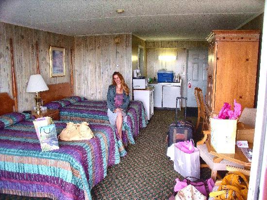 Vista Motel: inside room