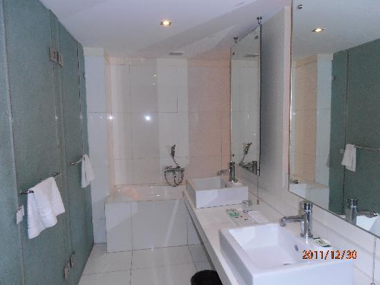 St Laurn Suites: bathroom