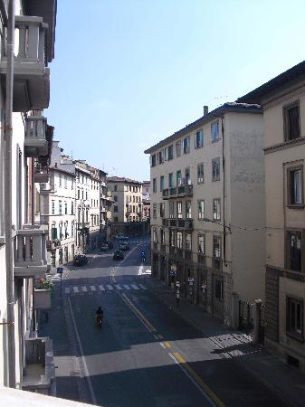 Ciao Hostel: View from the balcony