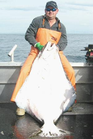 Alaska's Kodiak Island Resort: Our halibut fishing is hard to beat