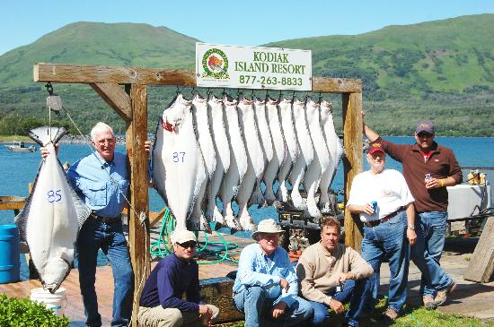 Alaska's Kodiak Island Resort: An average day's catch