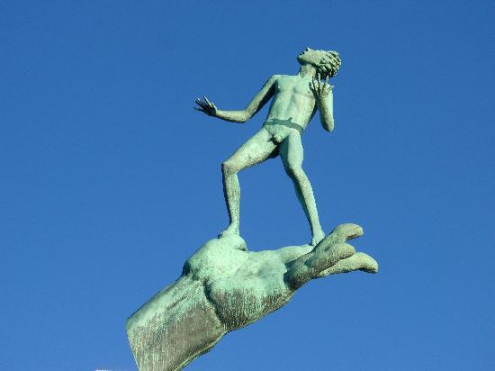 Lidingö, Sverige: Sculpture de Carl Milles