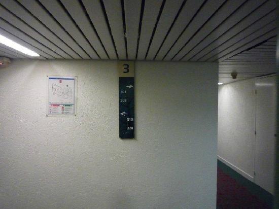 Ibis St Etienne Gare TGV : 3rd Floor
