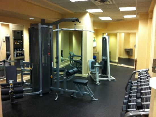The Saint Paul Hotel: Gym