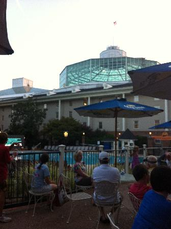 View From Lobby Check In Picture Of Gaylord Opryland Resort Convention Center Nashville