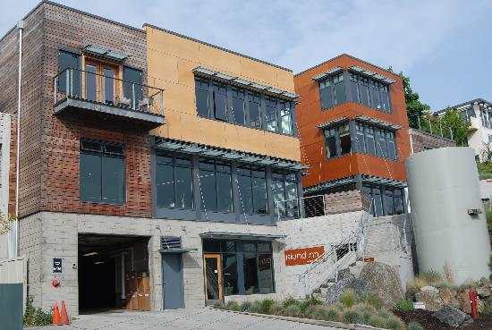 The Island Inn at 123 West: Exterior del hotel