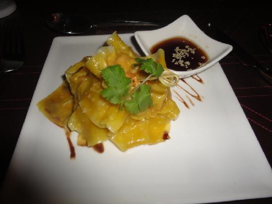 ORA Restaurant - dumplings