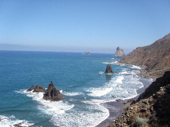 Playa de Benijo: Benijo desde lo alto