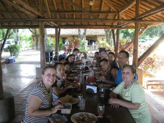 Lomas de Caruao: Lunch time