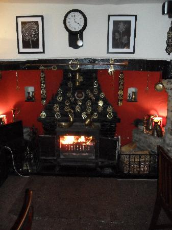 Brackley, UK: lounge fire
