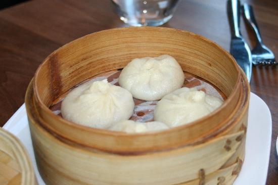 ChoLon Modern Asian Bistro: French onion soup dumplings