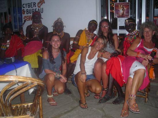 Mami Bar Ristorante: I masai del mamy bar