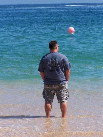Chileno Beach : Beautiful Water