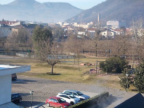 Hotel Terme Orvieto: vista parco