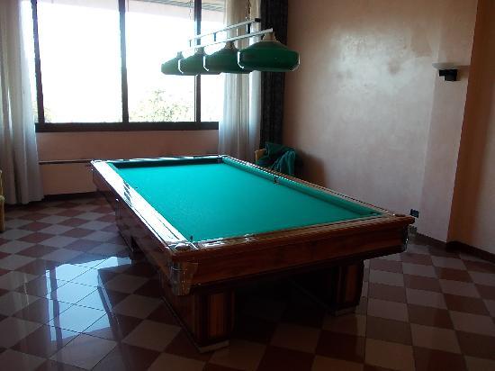 Hotel Terme Orvieto: sala biliardo
