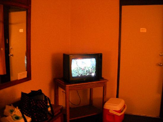 Newfound Lodge: Our small TV
