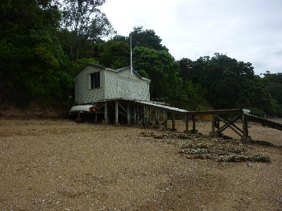 Heartsong Retreat: The Heartsong boat shed