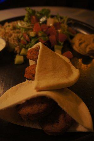 Skewers: Falafel Teller