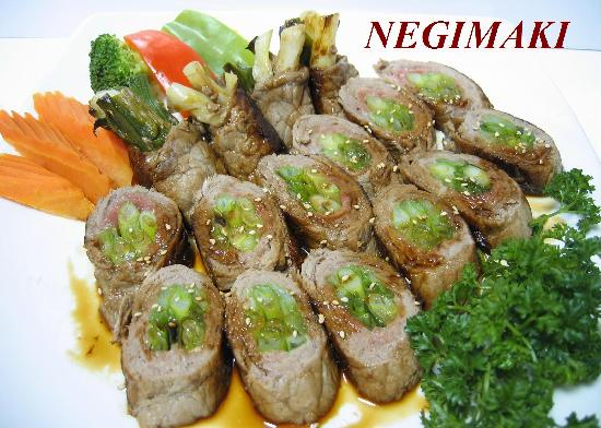Beef Negimaki With Broccolini And Rice Recipe — Dishmaps