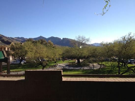 Lodge at Ventana Canyon: View from Room (Sabino Canyon)