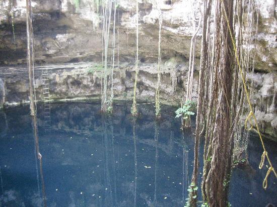 บายาโดลิด, เม็กซิโก: cenote hacienda san lorenzo oxman valladolid