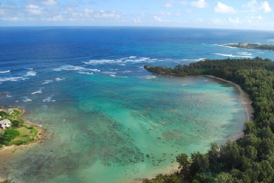 Shaka Kayaks: The bay just west of Turtle Bay Resort