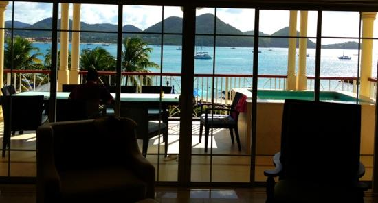 The Landings Resort & Spa St. Lucia : the view from our unit