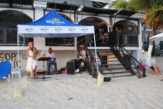 Mary's Boon Beach Resort and Spa: The beach music