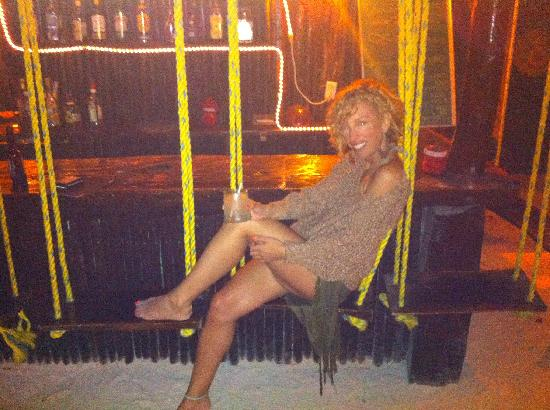Retiro Maya Villas : hanging around at the bar