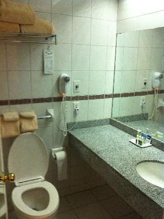 كابيتول بلازا هوتل آند كونفرانس سنتر: Bathroom