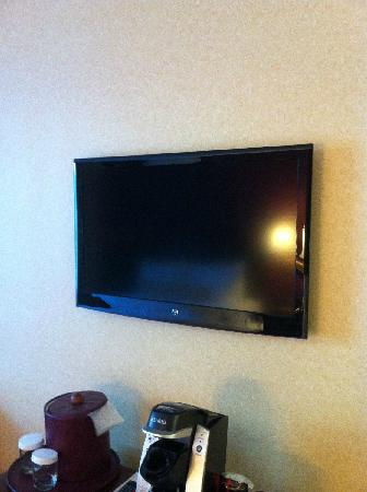 كابيتول بلازا هوتل آند كونفرانس سنتر: Tiny TV
