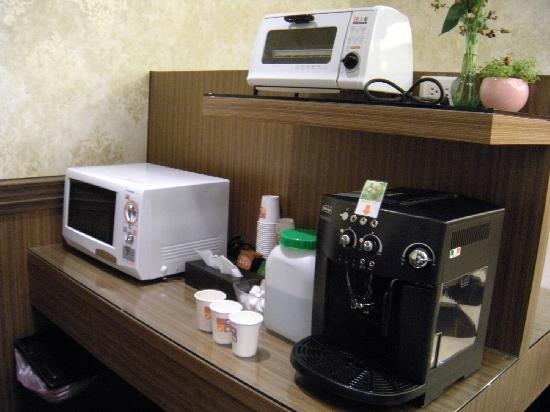 Hotel Puri: Pantry