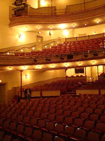Lancaster, PA: Fulton interior looking from stage