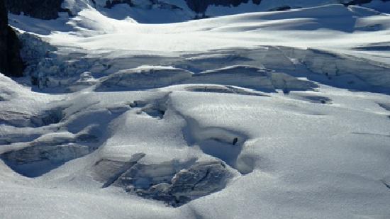 Wedgemount Lake: Wedgemount Glacier