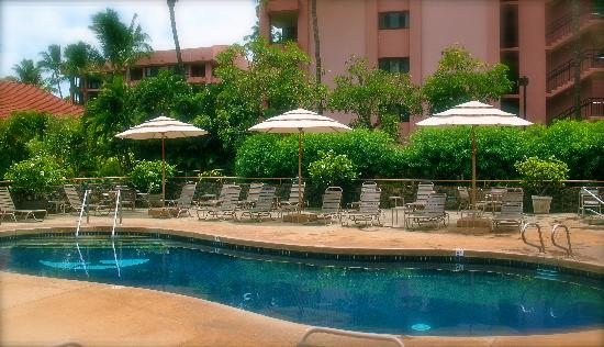 Kahana Villa Resort: the pool