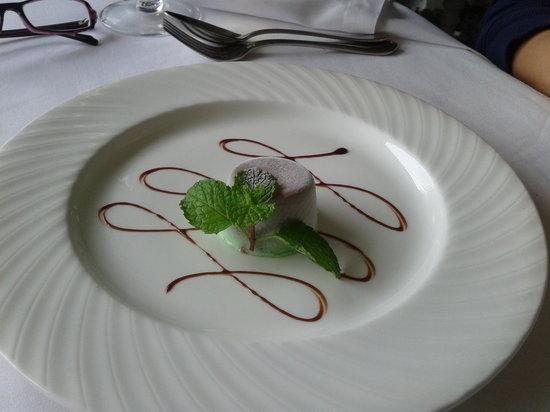 Antonio's Garden: Chocolate and Mint Parfait