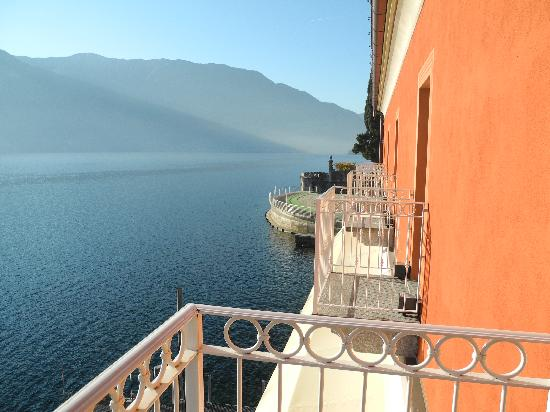Hotel La Darsena: View from our front balcony