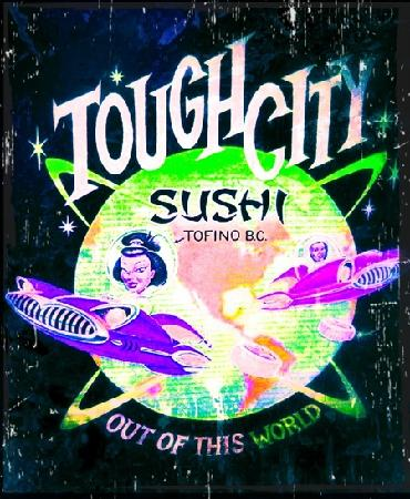 Tough City Sushi: most scenic place on the planet to eat sushi. period.