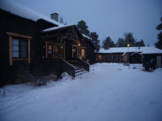 Nellim Wilderness Hotel: Main building