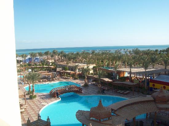 Hawaii Riviera Aqua Park Resort : view from our balcony