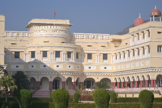 The Sariska Palace: Main palace