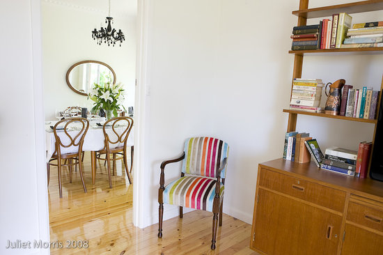 Mount Pleasant Homestead: lounge through to dining room