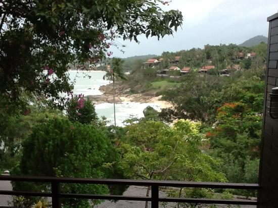 The Tongsai Bay: Look from the Cottage Suite Villa terrace