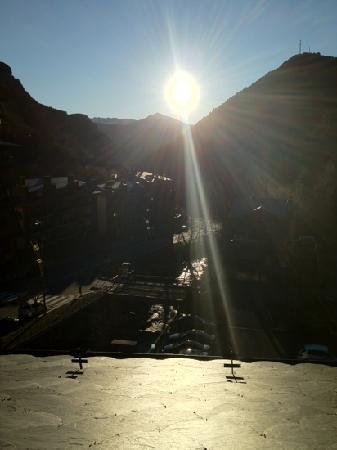 Hotel Palome: la vue de notre chambre